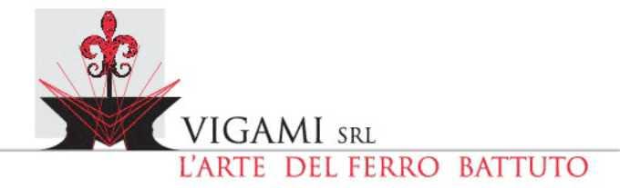 VIGAMI – FABBRO LAVORAZIONI ARTIGIANALI IN FERRO BATTUTO - 1