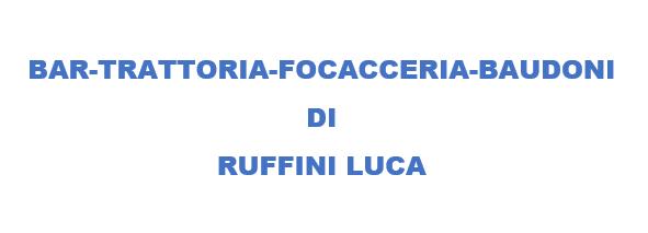 BAR TRATTORIA FOCACCERIA BAUDONI DI RUFFINI LUCA - 1