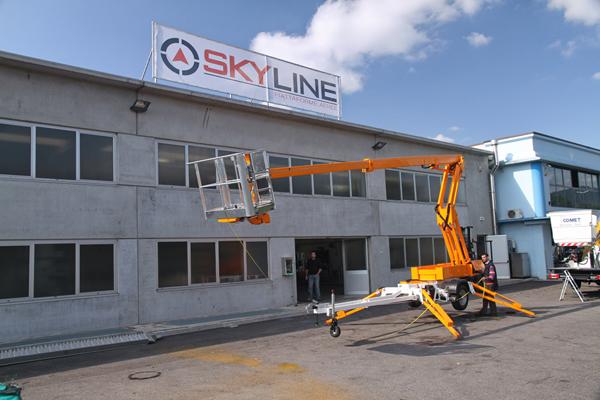 VENDITA PIATTAFORME AEREE BRESCIA – SKYLINE SRL - 1