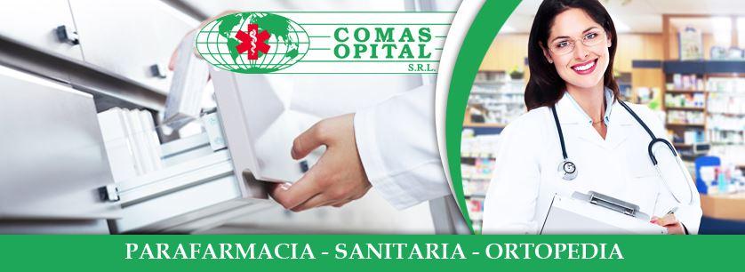 COMAS OPITAL|SANITARIA ORTOPEDIA CONVENZIONATA SSN INAIL|PARAFARMACIA SPECIALIZZATA|VENDITA APPARECCHI ELETTROMEDICALI - 1