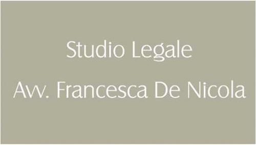 STUDIO LEGALE AVV FRANCESCA DE NICOLA - CONSULENZA LEGALE DIRITTO CIVILE E PENALE - 1