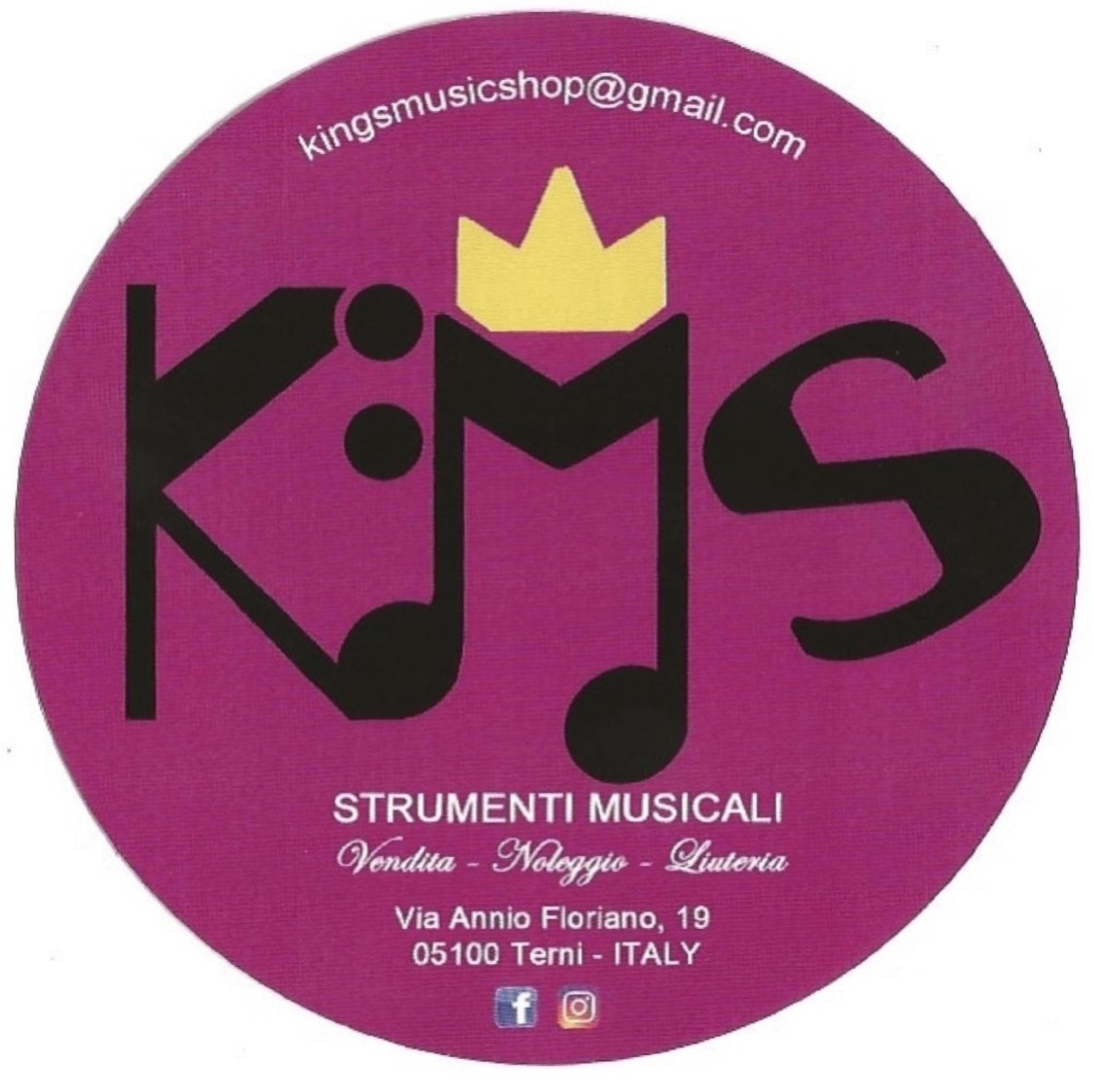KINGS MUSIC SHOP - VENDITA CHITARRE BASSI AMPLIFICATORI - 1