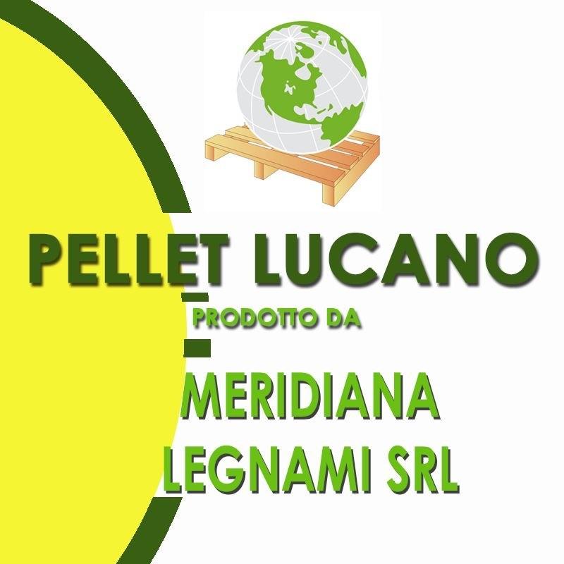 MERIDIANA LEGNAMI - VENDITA INGROSSO DETTAGLIO PRODUZIONE PELLET DI PURO LEGNO CERTIFICATO LUCANO - 1