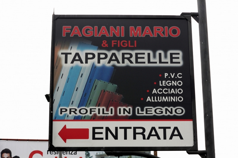TAPPARELLE BERGAMO - FAGIANI CAV. UFF. MARIO & FIGLI - 1